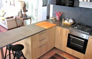 A kitchen or kitchenette at Casa con vista spettacolare su Assisi