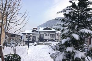 Hotel Prizreni during the winter