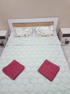 Кровать или кровати в номере Apartment Real House