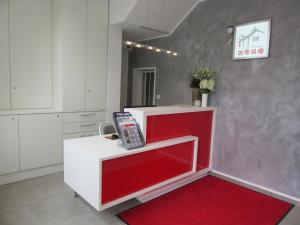 The lobby or reception area at Minsu Hotel