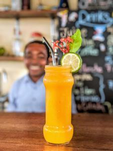 Drinks at Tamana Hostel