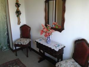 A seating area at La Casa di Lisa a 20 km dal mare