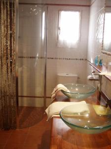 A bathroom at Blanc Marine