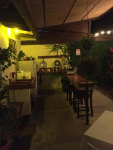 A restaurant or other place to eat at Hostel Dodero
