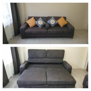 A seating area at Ataa Family Apartments