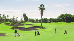 Golfeinrichtungen im Ferienhaus oder in der Nähe