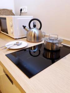 A kitchen or kitchenette at Casa Vittoria