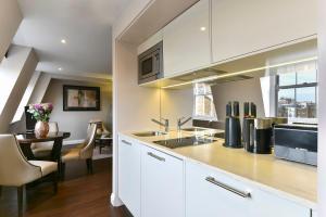 A kitchen or kitchenette at Fraser Suites Queens Gate
