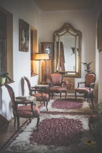 O zonă de relaxare la Castel Haller