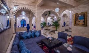 A seating area at Lina Ryad & Spa