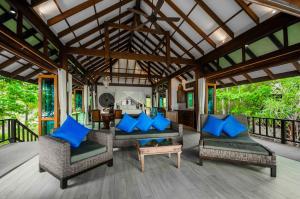 "A seating area at Koh Jum Beach Villas ""A member of Secret Retreats"""