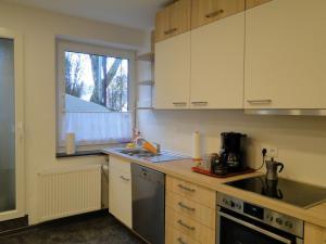 A kitchen or kitchenette at Haus St. Josef