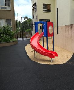 Children's play area at The Lakes Resort Cairns