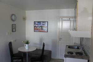 A kitchen or kitchenette at Lavilla Guesthouse
