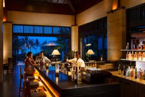 A restaurant or other place to eat at Conrad Bali