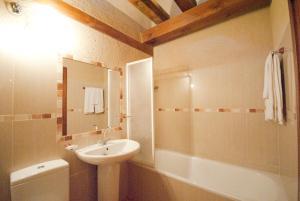 A bathroom at Casa Rural Abuelo Regino