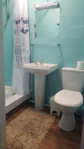 A bathroom at Earlsmere Guesthouse