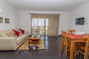 Zona de estar de Apartamentos Turisticos Rocha Tower - MI