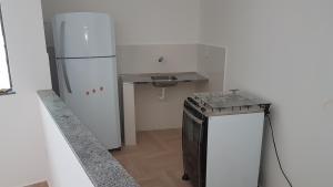 A kitchen or kitchenette at APARTAMENTO DO OTTO