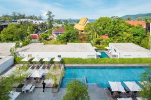 A view of the pool at Nap Patong or nearby