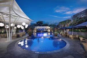 The swimming pool at or close to Aston Inn Batu