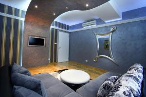 A bathroom at Apartments Belgrade