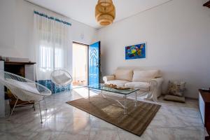 Area soggiorno di Villa Ammari