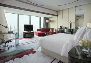 A television and/or entertainment center at Four Seasons Hotel Guangzhou