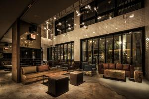 The lounge or bar area at Nest Hotel Osaka Umeda