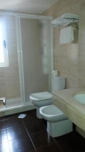 Un baño de Hotel Casa Fernando II