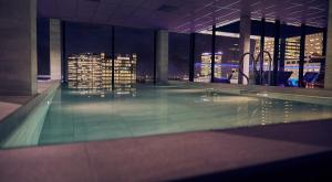 The swimming pool at or near Inntel Hotels Utrecht Centre