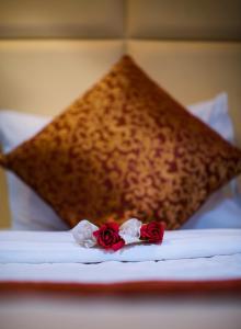 Cama ou camas em um quarto em Lina Park 4