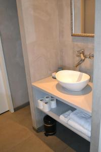 A bathroom at Bed & Breakfast 't Westergouwertje