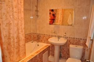 Ванная комната в Гостиница Атаман