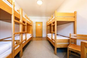 A bunk bed or bunk beds in a room at Jugendherberge Schliersee