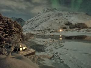 FLO Lofoten ECO Escape during the winter