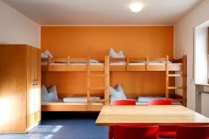 A bunk bed or bunk beds in a room at Jugendherberge Regensburg