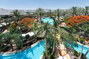 A view of the pool at Isrotel Agamim Hotel or nearby