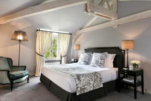 Un ou plusieurs lits dans un hébergement de l'établissement Domaine des Hauts de Loire