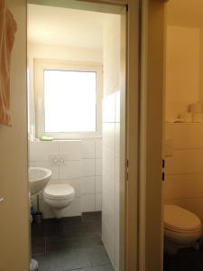 Ein Badezimmer in der Unterkunft Haus St. Josef