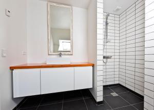 Et badeværelse på Aroma Guesthouse