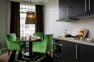 Küche/Küchenzeile in der Unterkunft Frogner House Apartments - Skovveien 8
