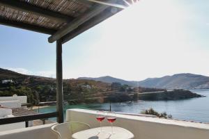 Balcone o terrazza di Cycladic Maisonette