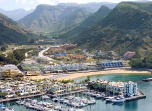 Hotel Cordial Mogán Playa a vista de pájaro