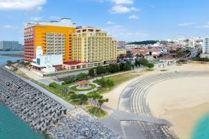 A bird's-eye view of Vessel Hotel Campana Okinawa