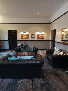 The lobby or reception area at The Brocket Arms Wetherspoon