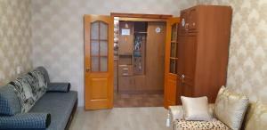 Гостиная зона в Apartment Zvezdnaya 8