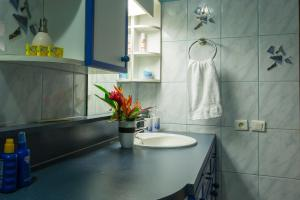 Um banheiro em Villa Moemoea