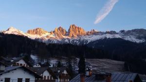 Garnì Valdan during the winter