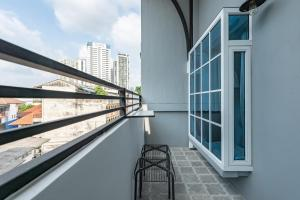 A balcony or terrace at White Ivory Bed And Breakfast